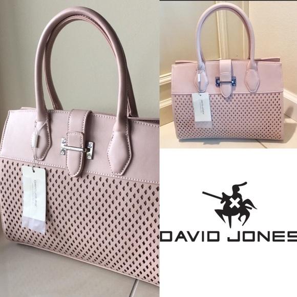 bd2aeb362efd DAVID JONES PARIS Bags | Blush Pink Handbag | Poshmark